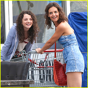 Stefania Owen Films 'All We Had' With Katie Holmes