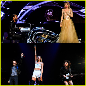 Taylor Swift Brings Out St. Vincent & John Legend During Her Show (Videos)