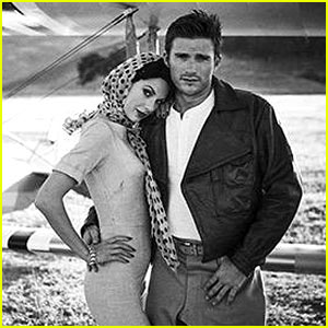 Taylor Swift & Scott Eastwood Dress Retro for 'Wildest Dreams' Video Teaser Pic!