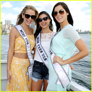 Miss Teen USA Katherine Haik Sees The Sights Of New York City