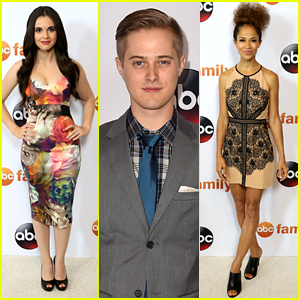 Vanessa Marano & Lucas Grabeel Bring 'Switched At Birth' To ABC TCA Party