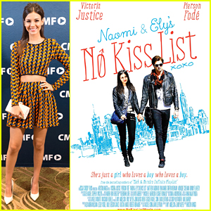 Victoria Justice Debuts 'Naomi & Ely's No Kiss List' Poster - See It Here!