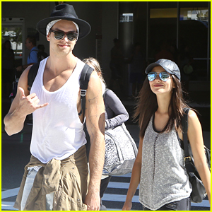 Victoria Justice & Pierson Fode Head Back To Mainland After Week in Hawaii