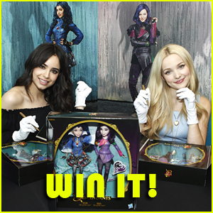 Win An Exclusive 'Descendants' Doll Two-Pack SIGNED by Dove Cameron & Sofia Carson!