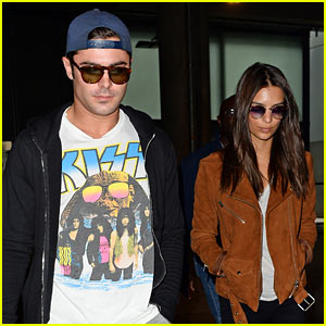 Zac Efron Lands in London with 'WAYF' Co-Star Emily Ratajkowski