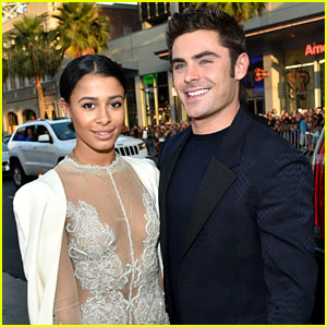 Zac Efron Brings Sami Miro to 'We Are Your Friends' Premiere