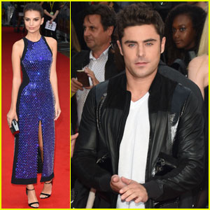 Zac Efron is a Leather Jacket Hottie at 'We Are Your Friends' London Premiere
