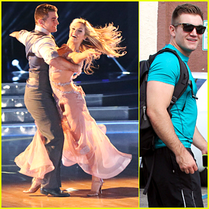 Alek Skarlatos & Lindsay Arnold Wow The Judges With Foxtrot On 'DWTS' Premiere - Watch Here!
