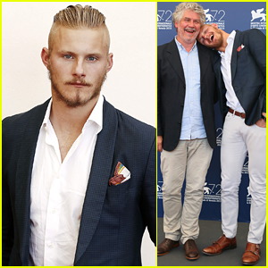 Alexander Ludwig Gets Silly At 'Go With Me' Photo Call At Venice Film Festival