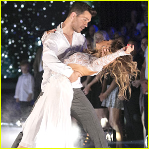 Allison Holker & Andy Grammer Wow With A Stunning Contemporary Performance On DWTS - See The Pics!