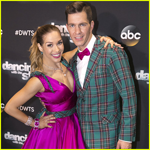Allison Holker & Andy Grammer Urge Fans To Vote After 'American Bandstand' Quickstep on DWTS