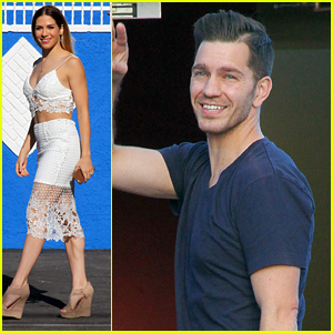 Allison Holker & Andy Grammer Make It To The Dance Studio In Los Angeles
