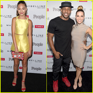 Allison Holker, Maddie Ziegler & Hayley Kiyoko Hit People's One To Watch Event