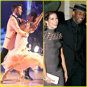 Andy Grammer & Allison Holker Hit Practice After Performing The Prettiest Foxtrot Ever on DWTS