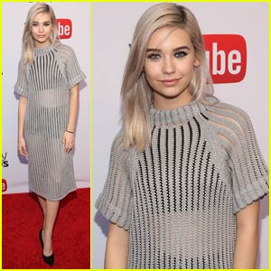 Amanda Steele Goes Sheer for Streamys Reception