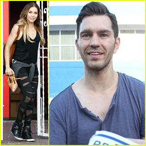 Andy Grammer Heads To The Airport After 'DWTS' Practice With Allison Holker