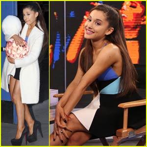 Ariana Grande Addresses Donut-Licking Incident on 'Good Morning America' (Video)