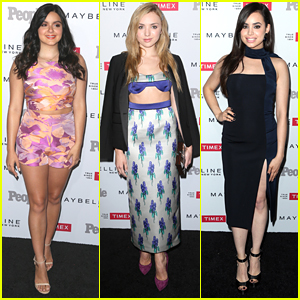 Ariel Winter & Sofia Carson Are People's 'Ones To Watch' With Peyton List