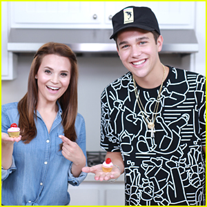 Austin Mahone Makes My Little Pony Cupcakes With Nerdy Nummies