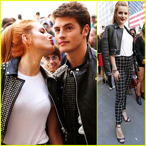 Bella Thorne & Gregg Sulkin Couple Up For Diesel Black Gold's Show At NYFW
