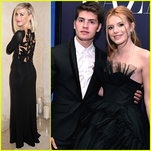 Bella Thorne & Gregg Sulkin Hit The ICONS Event After Marchesa Fashion Show