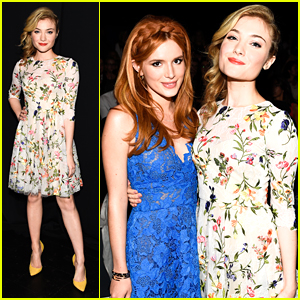 Bella Thorne & Skyler Samuels Bring The 'DUFF' Love To NYFW