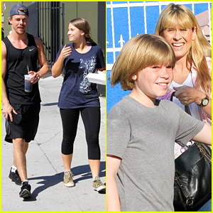Robert Irwin Visits Sister Bindi At DWTS Practice
