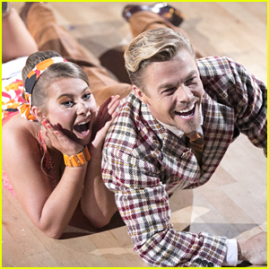 Bindi Irwin & Derek Hough Were Moving On Up On 'DWTS' To 'Jeffersons' Theme Song - See The Pics!