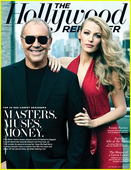 Blake Lively Covers 'THR' with Designer Michael Kors!