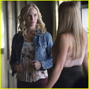 Candice King Says it Would Be Fun to See Caroline as a Mom on 'The Vampire Diaries'! (JJJ Interview)