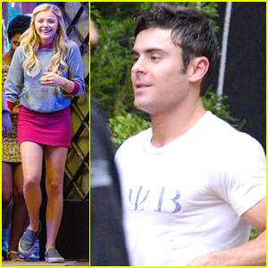 Chloe Moretz Returns To 'Neighbors 2' Filming After NYFW