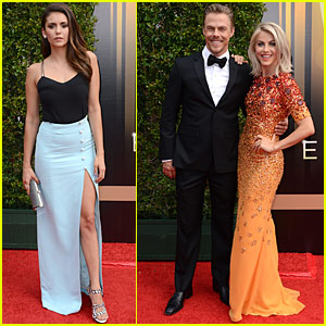 Julianne & Derek Hough Win For Outstanding Choreography At Creative Arts Emmys 2015