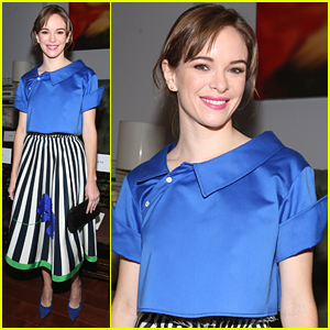 Danielle Panabaker Hits Monse Fashion Show After 'The Flash' Trailer Debuts