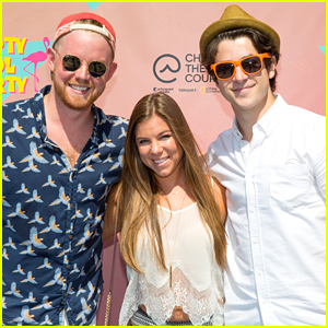 David Henrie Treats South Carolina Fan Adelie Kirsch To Pool Party in Los Angeles