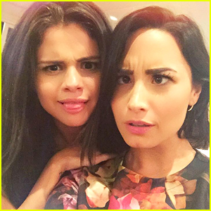 Demi Lovato & Selena Gomez Reunite - See Their Silly Pic Together!