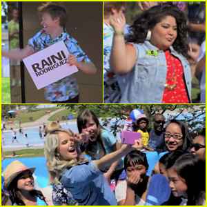 Calum Worthy, Raini Rodriguez & Debby Ryan Surprise Fans To Launch Disney Channel In Canada