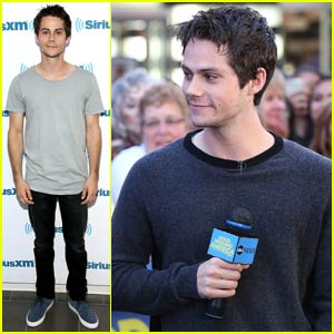 Dylan O'Brien Looks Extra Adorable at 'GMA' While Promoting 'The Scorch Trials'