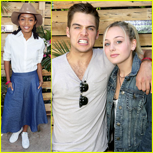 Dylan Sprayberry Brings Sister Ellery To Emmy Awards Style Lounge