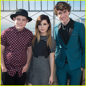 Echosmith Take Over The Empire State Building For Save The Music Foundation