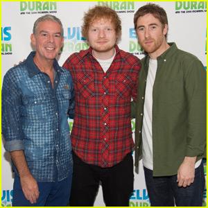 Ed Sheeran Brings New Artist Jamie Lawson to Z100 Studios