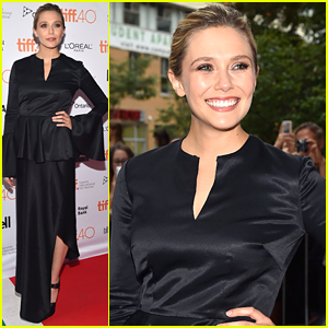 Elizabeth Olsen Joins Tom Hiddleston For 'I Saw The Light' Premiere at TIFF