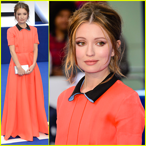 Emily Browning Has A Cinderella Moment At 'Legend' Premiere in London