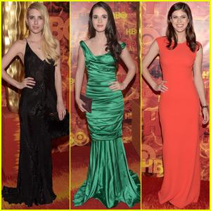 Emma Roberts & Vanessa Marano Party With Alexandra Daddario at Post-Emmys Bash!