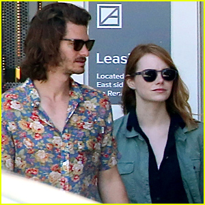Emma Stone & Andrew Garfield Grab Lunch Together in Los Angeles