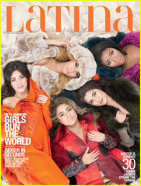 Fifth Harmony Covers Latina Magazine's 30 Under 30 Issue - Exclusive First Look!