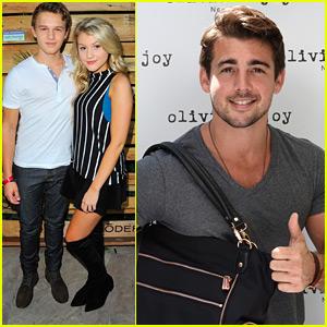 Gavin MacIntosh & Brooke Sorenson Couple Up For Pre-Emmys Suite