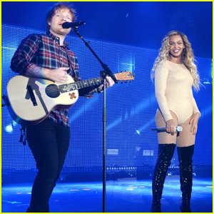 Ed Sheeran Teams Up With Beyonce For