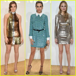 Hailee Steinfeld & Camilla Belle Are Michael Kors Fragrance Launch Beauties!