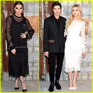 Hailee Steinfeld Goes Total Glam for Givenchy with Nicola Peltz!