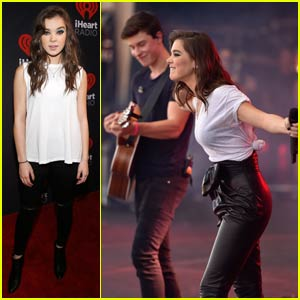 Watch Shawn Mendes Sing 'Stitches' on Stage With Hailee Steinfeld!